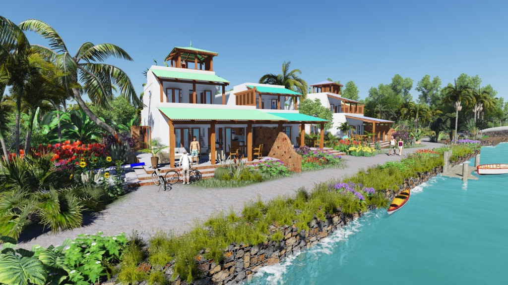 Real Estate In Corozal Belize Waterfront Villas
