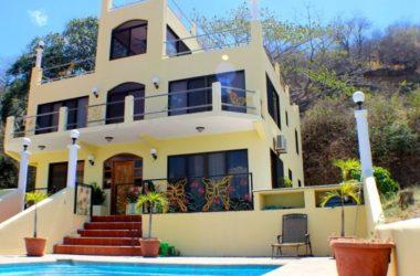 Playa Flamingo Costa Rica - Casa Mariposa-Beautiful 7 bedroom Ocean view Residence