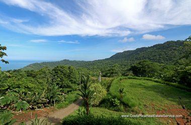 Savegre Costa Rica - Ocean View Lot In The Marina Vista Community Near Dominical