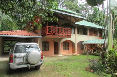 Costa Rica - Furnished Home In The Town Of Playa Uvita With Tropical Gardens